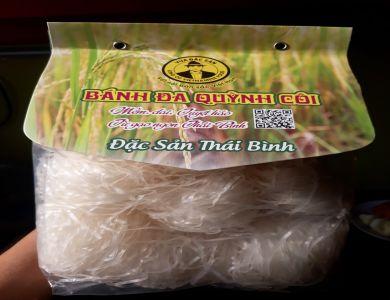 Bánh Đa Quỳnh Côi đặc sản Thái Bình